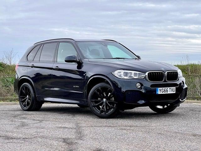 2016 BMW X5 3.0TD xDrive30d M Sport (66 reg)