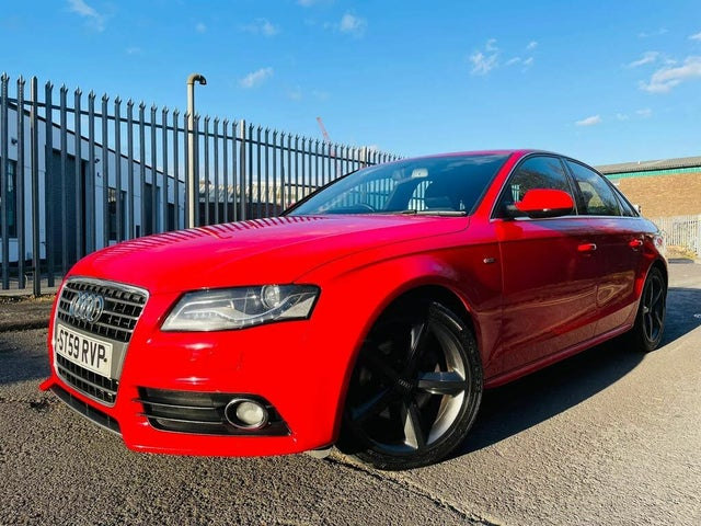 2010 Audi A4 2.0TD S Line (143PS) (59 reg)