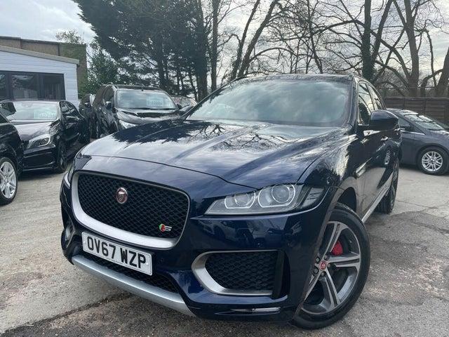2018 Jaguar F-PACE 3.0TD S (AWD) (67 reg)