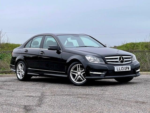 2013 Mercedes-Benz C-Class 2.1CDI C250 CDI AMG Sport Saloon 4d 7G-Tronic Plus (13 reg)