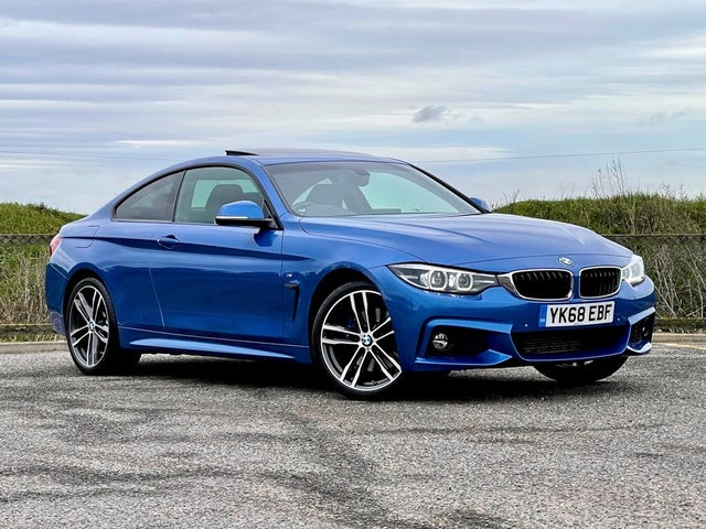 2018 BMW 4 Series 2.0TD 420d xDrive M Sport (190bhp) 2d Auto (68 reg)
