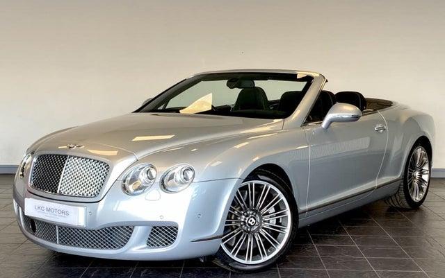 2011 Bentley Continental 6.0 W12 GTC Speed (Series 51) (11 reg)