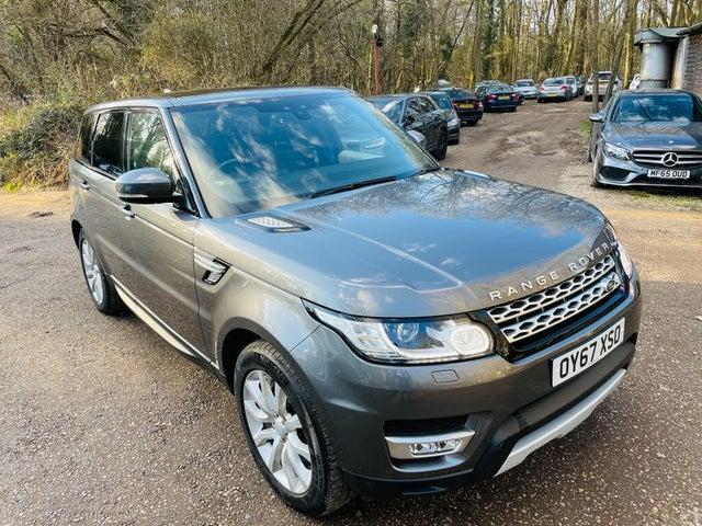 2017 Land Rover Range Rover Sport 3.0 SD V6 HSE (306ps) (67 reg)