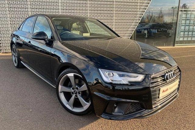 2019 Audi A4 2.0 35 TFSI Black Edition (19 reg)