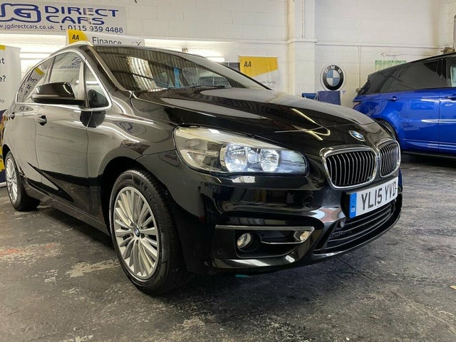 2015 BMW 2 Series 2.0TD 218d Luxury (150bhp) Active Tourer 5d Auto (15 reg)
