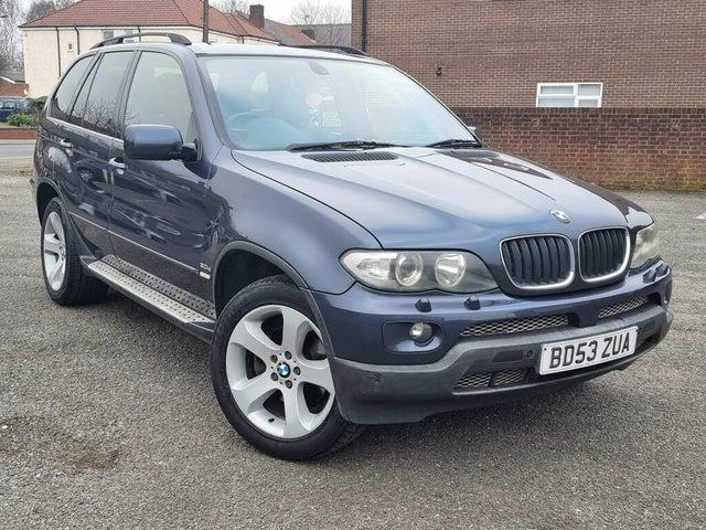 2004 BMW X5 3.0TD Sport (218bhp) 4X4 Auto (53 reg)