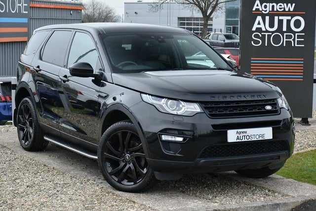 2016 Land Rover Discovery Sport 2.0Td4 HSE Black (Z1 reg)