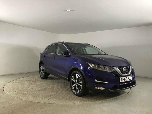 2018 Nissan Qashqai 1.3 DIG-T N-Connecta (160ps) DCT (68 reg)