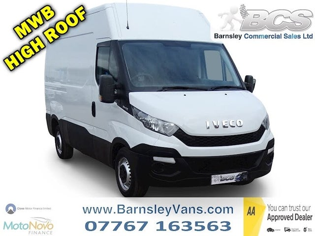 2015 Iveco Daily S Class 2.3TD 35S11V 3520L H2 Top Panel (64 reg)