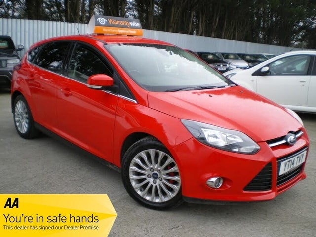 2014 Ford Focus 1.6TDCi Zetec (115ps) Hatchback (14 reg)