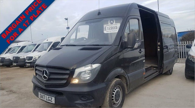 2017 Mercedes-Benz Sprinter 2.1CDI 316 SWB Panel Van (17 reg)