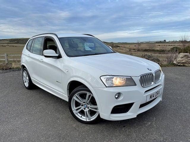 2013 BMW X3 3.0TD xDrive30d M Sport (63 reg)