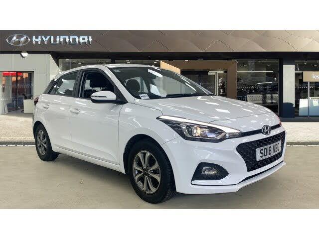 2018 Hyundai i20 1.2 SE MPi (ISG) Hatchback 5d (18 reg)