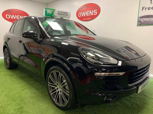 2017 Porsche Cayenne 4.2TD S Diesel Platinum Edition AWD (1Z reg)