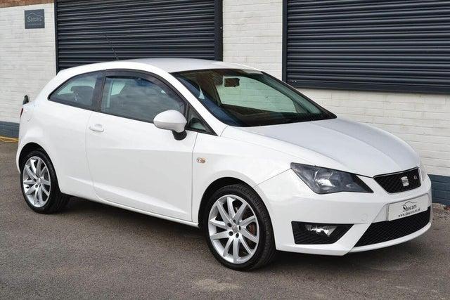 2012 Seat Ibiza 2.0TD FR (143ps) CR SportCoupe 3d (62 reg)