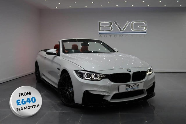 2018 BMW 4 Series 3.0 M4 (444bhp) (Competition Pack)(s/s) Convertible M DCT (67 reg)