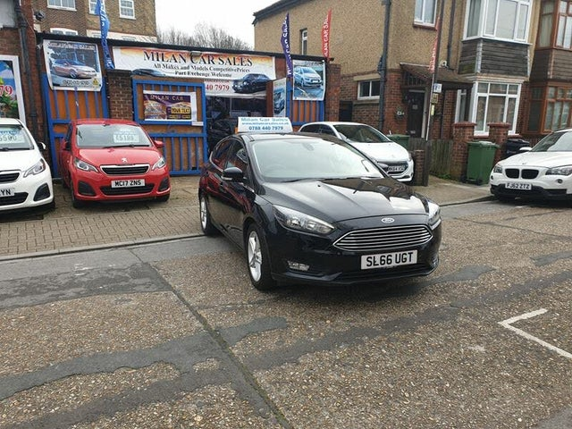 2016 Ford Focus 1.0T Zetec (100ps) Hatchback (66 reg)