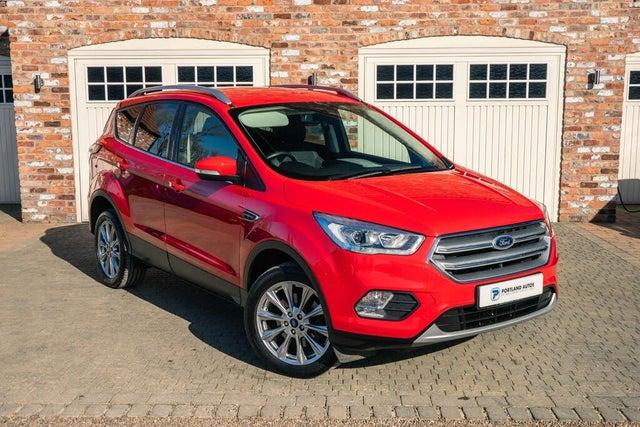 2019 Ford Kuga 2.0TDCi Titanium Edition (120ps) Powershift (68 reg)