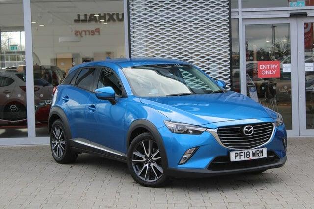 2018 Mazda CX-3 2.0 Sport Nav (120ps) (2WD)(s/s) (18 reg)