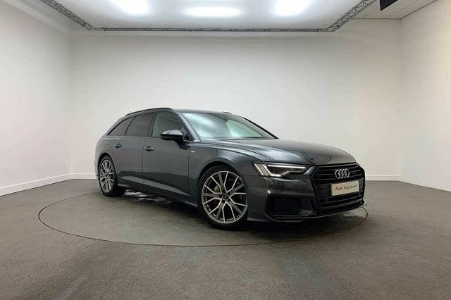 2020 Audi A6 Avant 2.0 40 TDI Black Edition (69 reg)