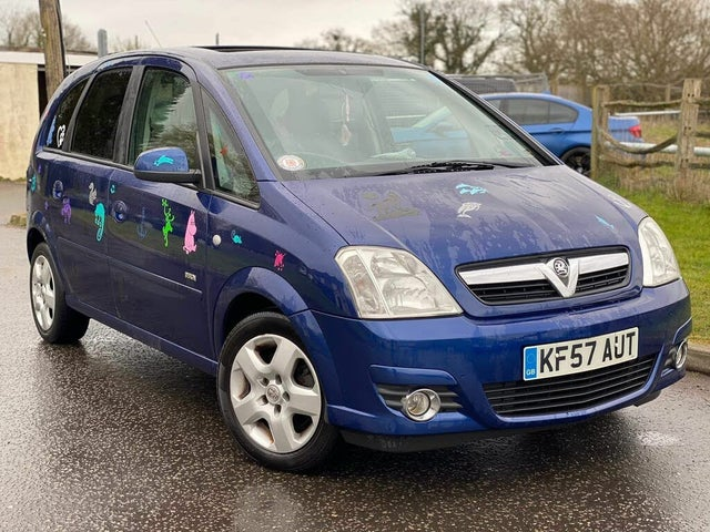 2007 Vauxhall Meriva 1.6 Design (a/c) (57 reg)