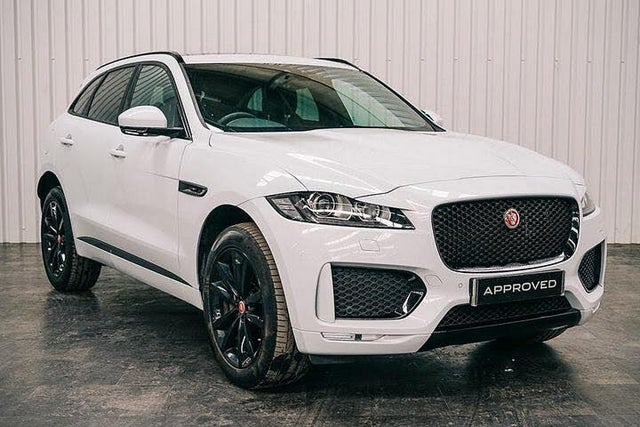 2019 Jaguar F-PACE 2.0 i4D Chequered Flag (180ps) (69 reg)