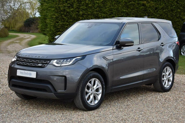 2018 Land Rover Discovery 2.0SD4 SE (240PS)(E6) 4WD Panel Van auto (18 reg)