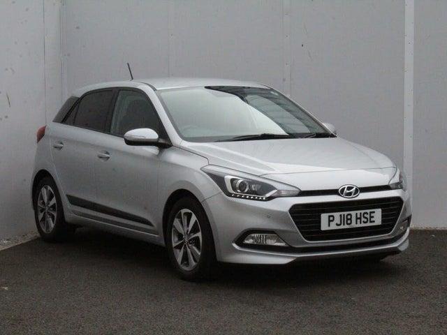 2018 Hyundai i20 1.0 T-GDi Premium Nav (100ps) Hatchback 5d (18 reg)