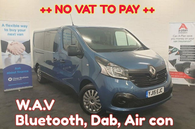 2015 Renault Trafic 1.6dCi LL29 120 Business+ Low Roof (15 reg)