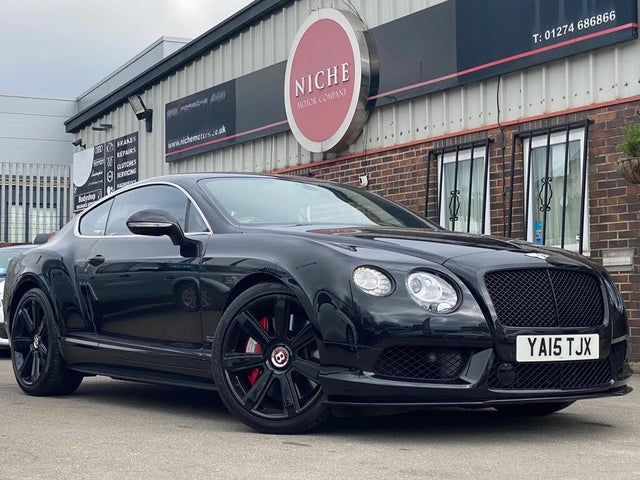 2015 Bentley Continental 4.0 GT V8 S 4X4 Coupe (BF reg)