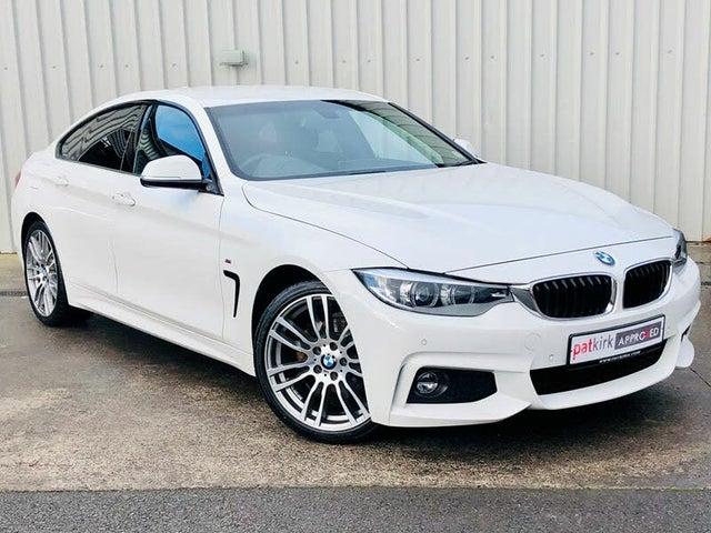 2018 BMW 4 Series 2.0 420i M Sport (s/s) Gran Coupe 5d 1998cc Auto (A4 reg)