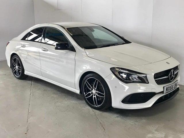 2017 Mercedes-Benz CLA 2.1d CLA 220 AMG Line 4MATIC Coupe 4d (66 reg)
