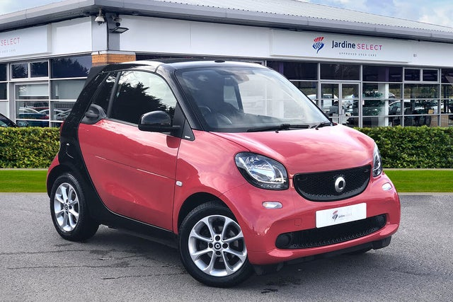 2016 Smart fortwo 1.0 Passion (70bhp) (s/s) Cabriolet Twinamic (16 reg)