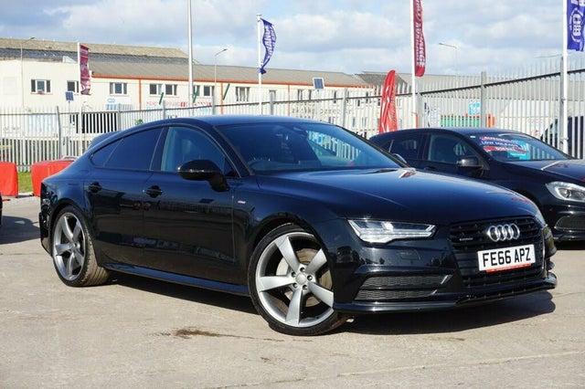 2016 Audi A7 3.0TDI quattro Black Edition (218ps) (66 reg)