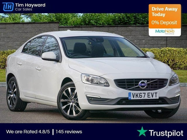 2017 Volvo S60 2.0TD D4 Business Edition Lux (67 reg)