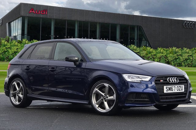2018 Audi S3 2.0 TFSI quattro Black Edition Sportback 5d S Tronic (67 reg)