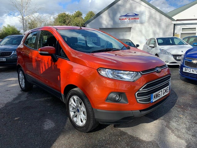 2018 Ford EcoSport 1.0T Zetec (125ps) (67 reg)