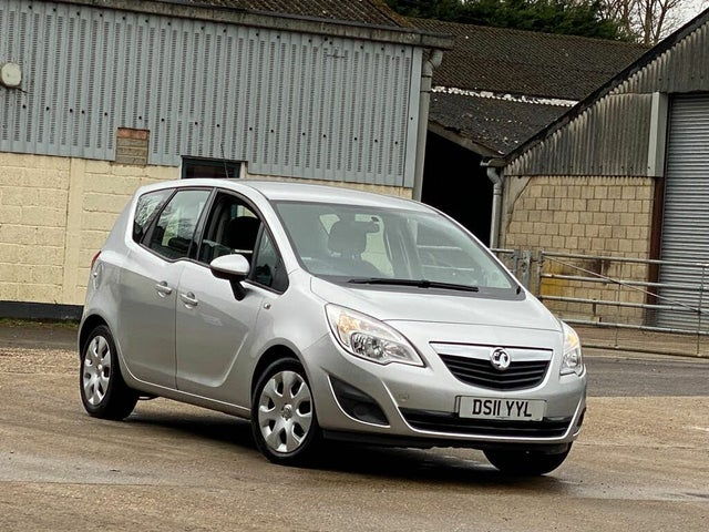 2011 Vauxhall Meriva 1.4 Exclusiv (140ps ) (a/c) 1398cc (11 reg)