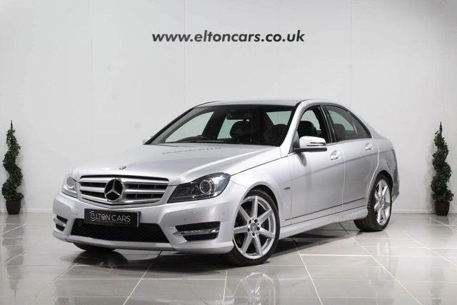 2012 Mercedes-Benz C-Class 2.1TD C220 CDi Sport Saloon 4d 7G-Tronic (61 reg)