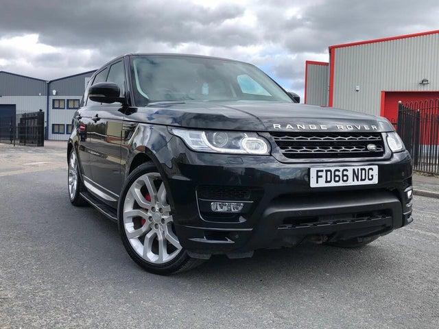 2016 Land Rover Range Rover Sport 3.0 SD V6 Autobiography Dynamic 3.0 SD (306hp) 4X4 CommandShift 2 (66 reg)