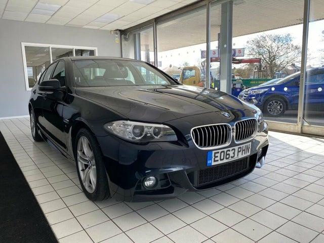 2013 BMW 5 Series 2.0TD 520d M Sport (184bhp) Saloon 4d (63 reg)