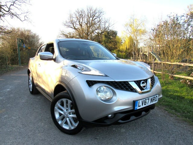 2017 Nissan Juke 1.6 N-Connecta (67 reg)