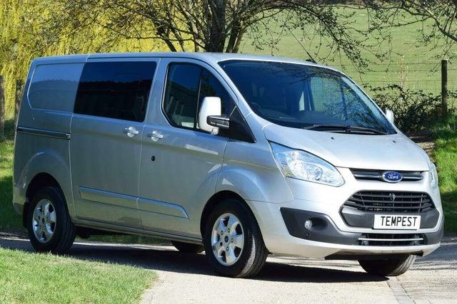 2017 Ford Transit Custom 2.0TDCi 290 L1H1 Limited (170PS)(EU6) Double Cab-in-Van (17 reg)