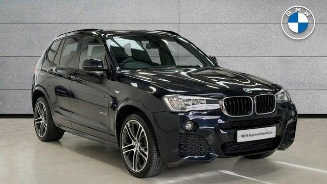 2017 BMW X3 2.0TD xDrive20d M Sport (190bhp) (17 reg)