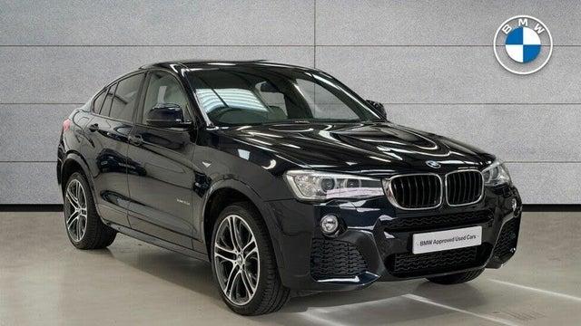 2018 BMW X4 2.0TD xDrive20d M Sport (18 reg)