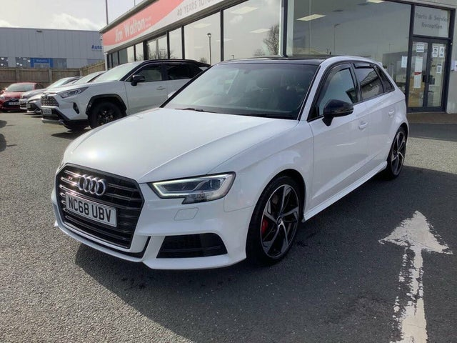 2019 Audi S3 2.0 TFSI Black Edition Sportback 5d (68 reg)