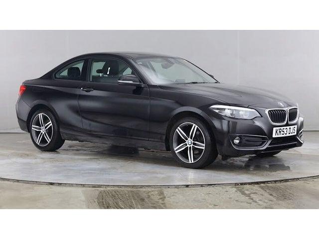 2018 BMW 2 Series 1.5 218i Sport (134bhp) Coupe 2d (53 reg)