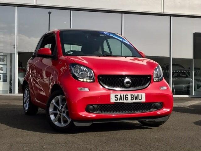 2016 Smart fortwo 1.0 Passion (70bhp) (Premium)(s/s) Coupe (16 reg)