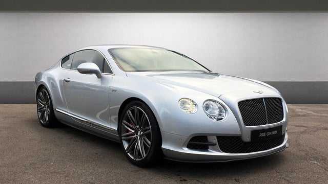 2016 Bentley Continental 6.0 GT Speed 4X4 Coupe (16 reg)