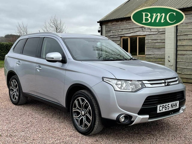2016 Mitsubishi Outlander 2.2DI-D GX3 (Leather)(7st) (65 reg)